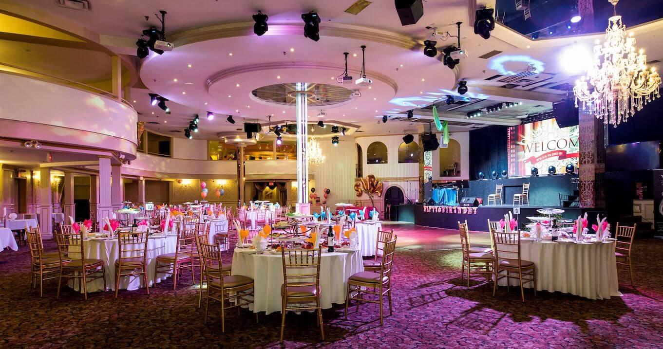 Wedding Venue With Tables