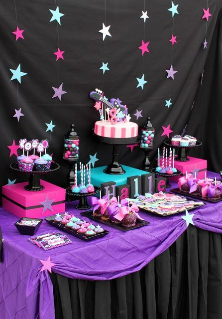 If Your Kid Love To Dance And Sing Has Favorite Songs Or A Band He She Would Be Happy You Throw VIP Rock Star Party Look Through Some Tween Birthday