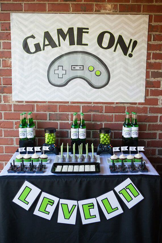 If Your Kid Loves Video Games This Type Of Tween Birthday Party Ideas Would Be Lot Fun No Matter What His Her Favorite Game Is Whether Its Minecraft